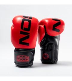 """Gants de Boxe """"LV1"""" Rouge/Noir Nobu Athletics"""