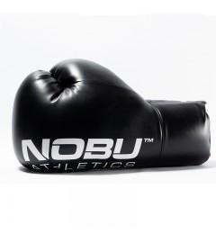 """Gants de Boxe """"BIG BOY"""" Noir/Blanc Nobu Athletics"""