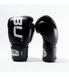 """Gants de Boxe """"LV1"""" Noir/Blanc Nobu Athletics"""