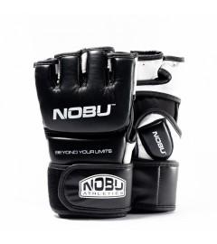 "Gants de MMA ""UPPERCUT"" Noir/Blanc Nobu Athletics"