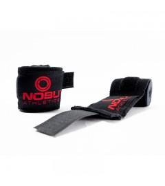 """Bandes de Boxe """"BLOODY"""" Noir/Rouge Nobu Athletics"""