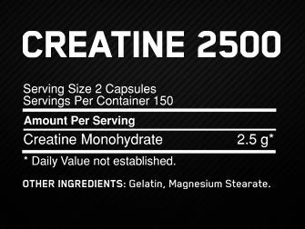 Créatine 2500 Optimum Nutrition